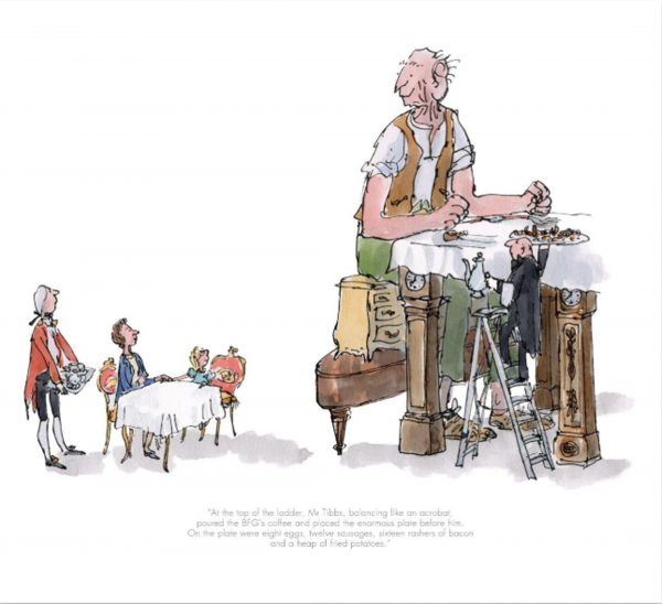 The BFG Has Breakfast With The Queen