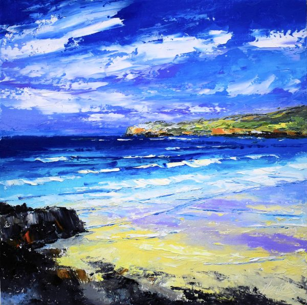 4.Summer Light, Cliff Beach, Lewis