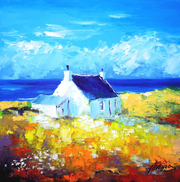 5.Croft and Shed, Western Light, near Ness, Lewis