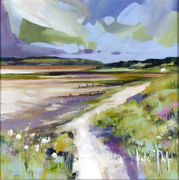 Kate Philp_Original_ Summer's Day, Monifeith_unframed