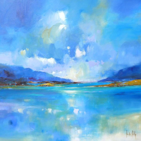 Ardnamurchan Reflections Giclee Print _small-10.6x10.5_Large-20x20_Ltd Edition of 250