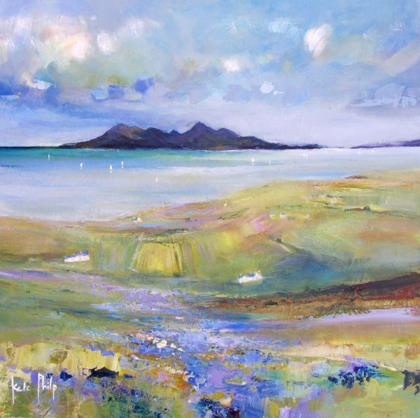 Bluebells, Eigg_10.6x10.5_Open Edition