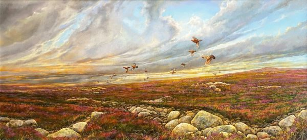 Christopher Sharp_Grouse_Oil_18x38_2400 unframed