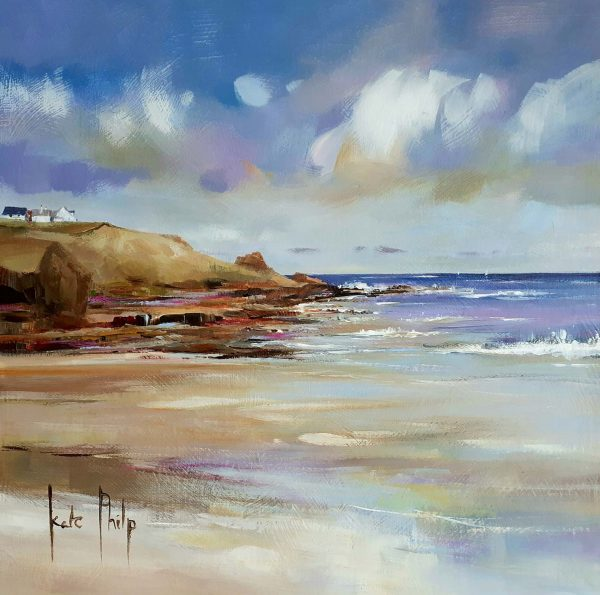 Coldingham Giclee Print by Kate Philp_10.5x10.5_Open Edition