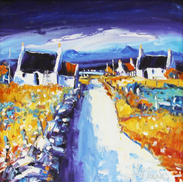 Jean Feeney_Lane to the Loch_12x12_595_unframed
