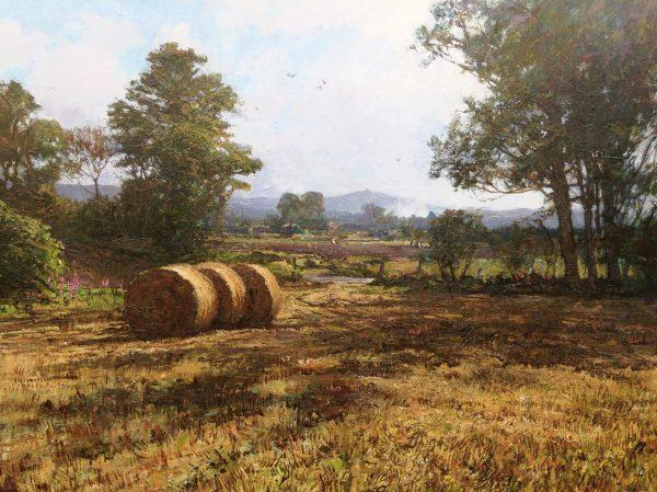 Johnathan Mitchell_Kinpurney Hill from Ballindarg_23x17.5_25x31_1950_unframed