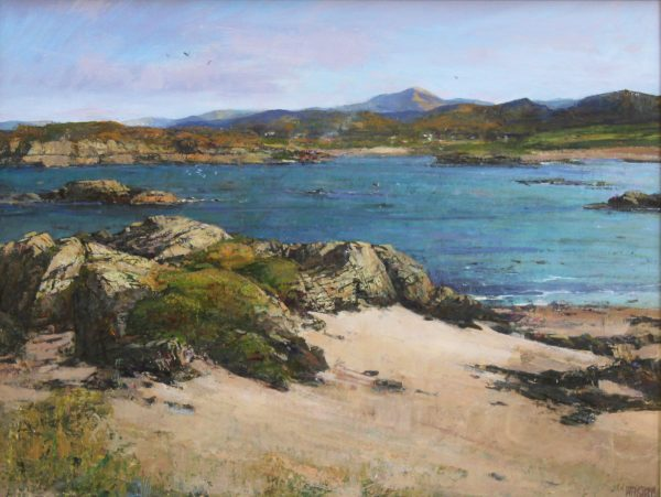 Jonathan Mitchell_Arisaig Shoreline_53x40_73x60_1800_unframed