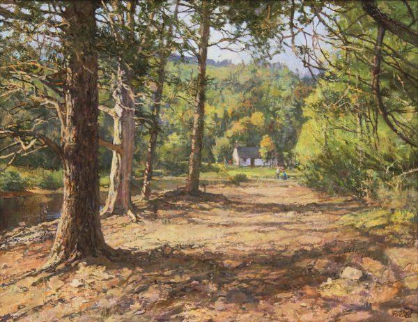 Jonathan Mitchell_At Loch An Eilean_56x43_86x63_1950_unframed