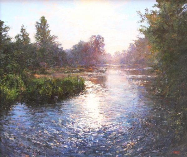Jonathan Mitchell_Evening Light, The Isla_95x80_115x100_5250_unframed