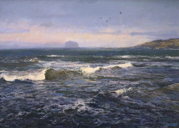 Jonathan Mitchell_Incoming Tide, North Berwick_52x37_72x57_1800_unframed