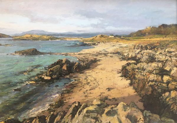 Jonathan Mitchell_January Light, Arisaig_52x38_72x58_1550_unframed