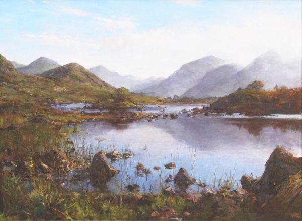 Jonathan Mitchell_Late Summer, Rannoch Moor_59x43_79x63_1950_unframed