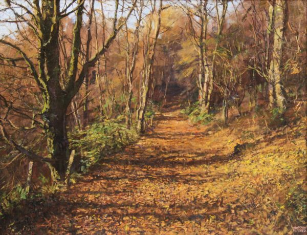 Jonathan Mitchell_Path To Alyth Den_58x45_78x65_1950_unframed