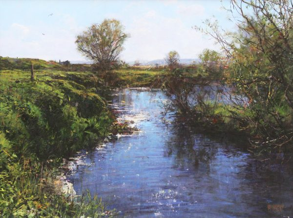 Jonathan Mitchell_River Isla by Meigle_59x44_79x64_1950_unframed