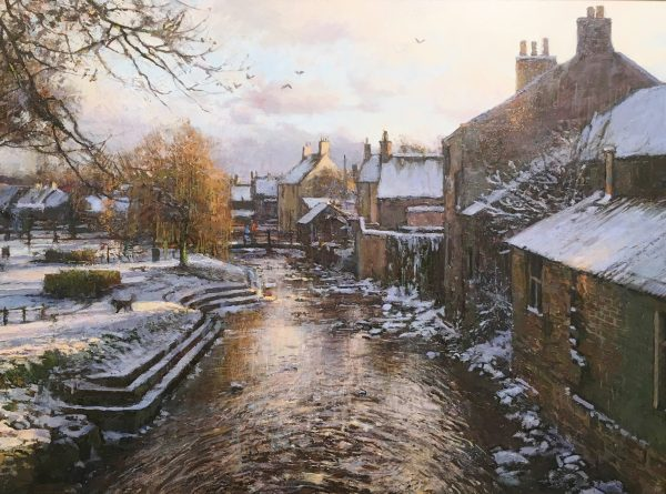 Jonathan Mitchell_Winter, Alyth Burn_54x41_64x61_1800_unframed
