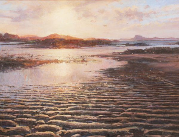 Jonathan Mitchell_Winter Light, Traigh_65x40_85x60_1950_unframed