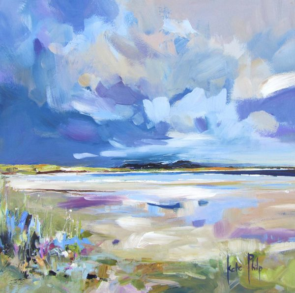 Light over Baleshare, North Uist_10.5x10.5_Open Edition