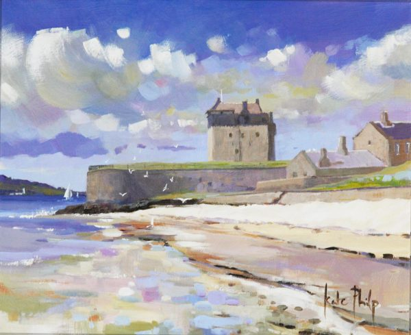 Summer Days, Broughty Ferry_285_10x12_unframed