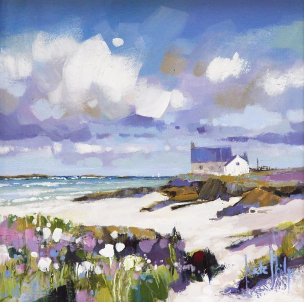 Kate Philp, Last Days of Summer, Iona_ 8x8_17x17_350_unframed