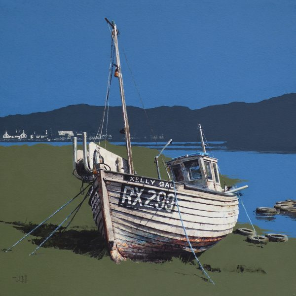 Kelly Gal, An t-Ob, South Harris (size 18 x 18 inches)
