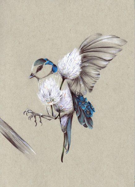 Rustic Bird Flight_A4 Print_8.5x11.75_15.00