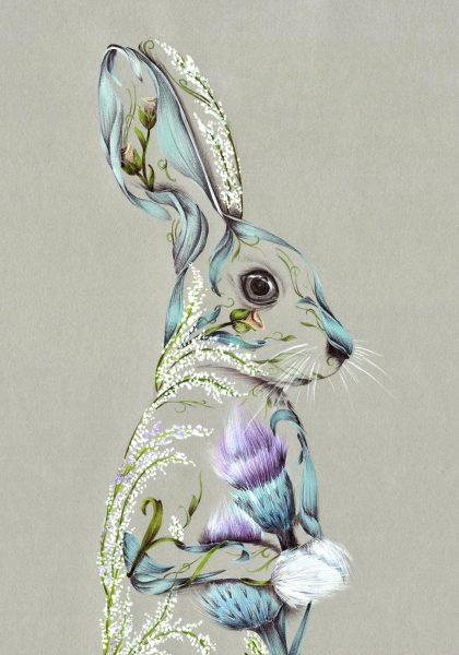 Rustic Hare_A4 Print_8.5x11.75_15.00