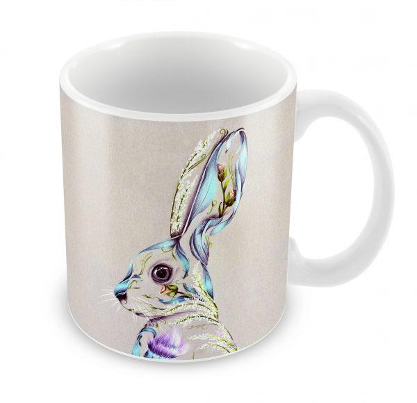 Rustic Hare_Bonechina Mug_10.99