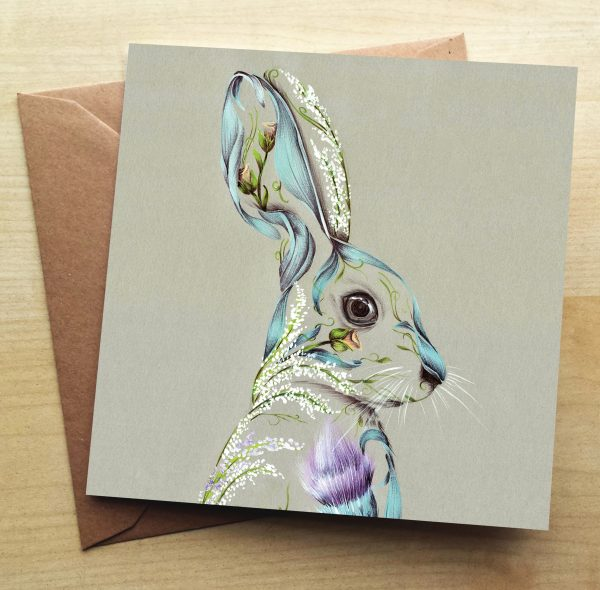 Rustic Hare_Card_6x6_2.60