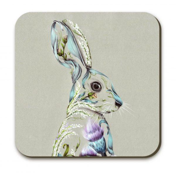 Rustic Hare_Coaster_4x4_3.99