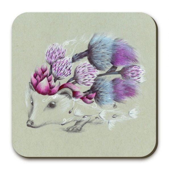 Rustic Hedgehog_Coaster_4x4_3.99