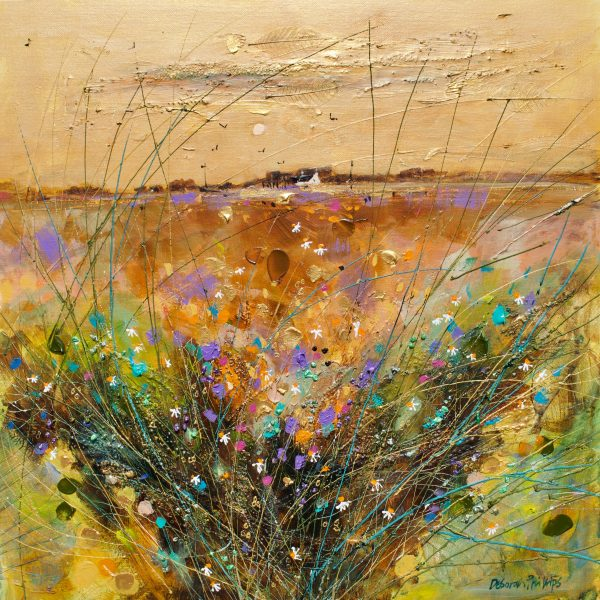 Deborah Phillips_Soft Harvest Sunset_20x20_30x30_Acrylic_Unframed_1295