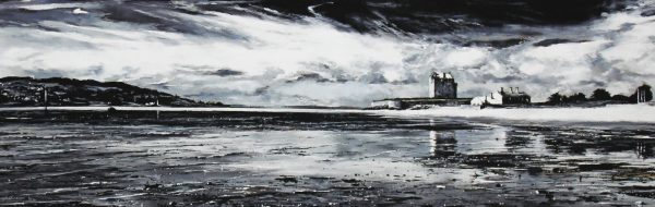 Fiona Haldane_Original_Pastel_Vantage Point, Broughty Ferry_16x48_28x60_3750 unframed