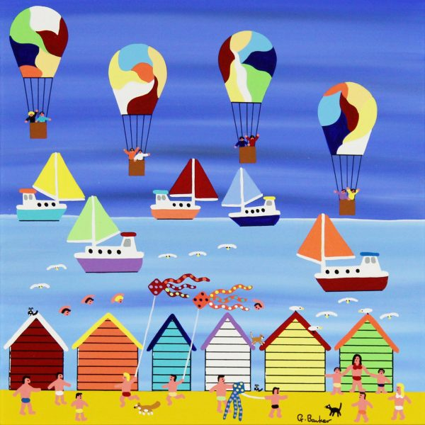 Gordon Barker_A Perfect Beach Day (II)_Acrylic_195_Unframed