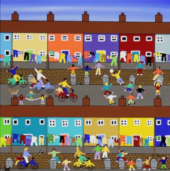 Gordon Barker_Urban Playground_Acrylic_195_Unframed