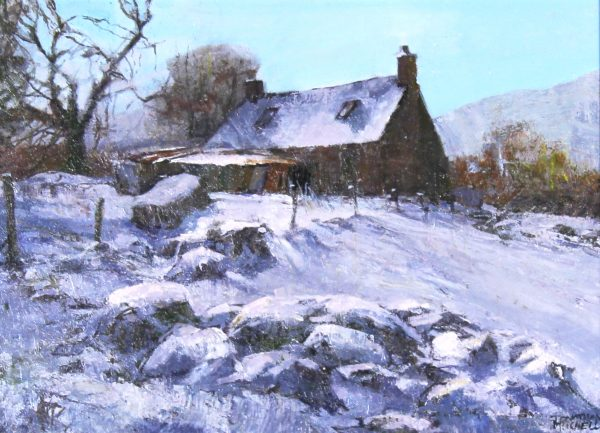 Jonathan Mitchell_Old Shed, Mellon Udrigle_8x10.5_Oil_575_Unframed