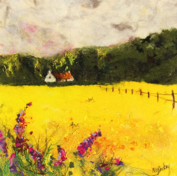 Moy Mackay_Buttercup Meadow_16.16_20x20_1250
