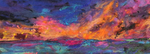 Moy Mackay_East Lothian Sundown_9x24_13x28.5_895