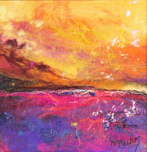 Moy Mackay_Tangerine Sunset_7.5x7.5_11.5x11.5_280