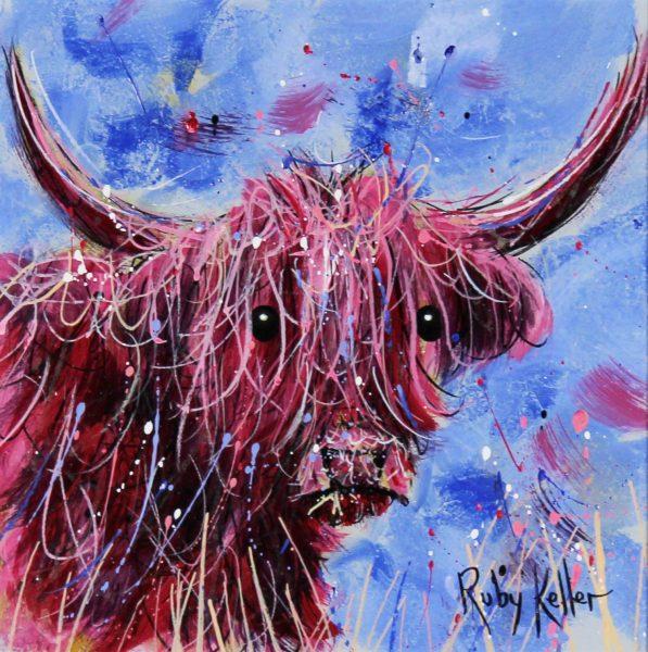 Ruby Keller_The Highlander at Dusk(III) Small_450_10x10_18x18_Unframed
