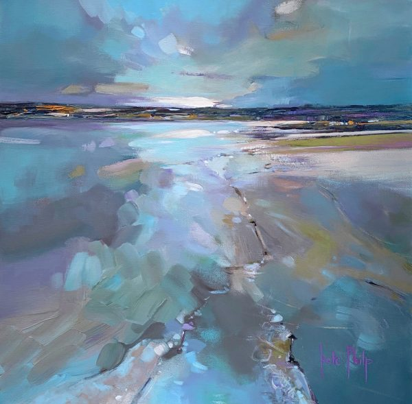 Kate Philp_All is calm, all is bright, Tentsmuir_16x16_950_unframed